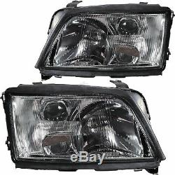 Headlight Set Kit For Audi A6 4a C4 Year Mfr. 94-97 H1 / H1 For Electr. Lwr
