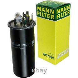 Inspection Set 10 L Liqui Moly Lt High Tech 5w-30 - Mann Filter 9833661