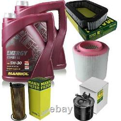 Inspection Set 10 L Mannol Energy Combi LL 5w-30 - Mann Filter 10973775