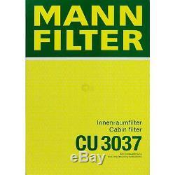 Inspection Set 5l Mannol Energy Combill 5w30 Engine Oil + Mann Filter Kit