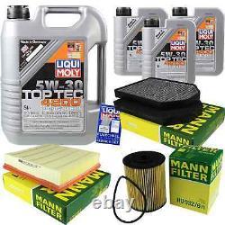 Inspection Set 8 L Liqui Moly Toptec 4200 5w-30 - Mann Filter A8 9786200