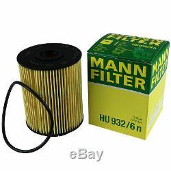 Inspection Set Filter Kit 5w30 Engine Oil For Vw Touareg 7l6 7l7 Audi 7la