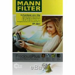 Inspection Set Mann-filter Kit 5w30 Engine Oil Longlife Audi A6 4b C5 Before