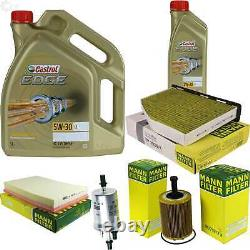 Inspection Sketch Filter Castrol 6l 5w30 Oil For Audi Tt Roadster 8j9 3.2