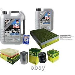 Inspection Sketch Filter Liqui Moly Oil 6l 5w-30 For Audi A6 4b C5 2.4 2.8