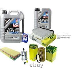 Inspection Sketch Filter Liqui Moly Oil 6l 5w-30 For Vw Golf IV