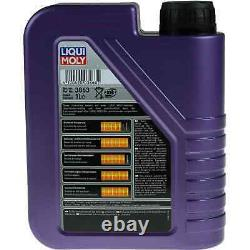 Inspection Sketch Filter Liqui Moly Oil 7l 5w-40 From Audi A4 Cabriolet
