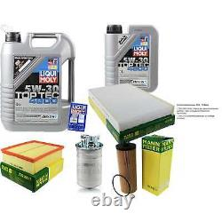 Inspection Sketch Filter Oil Liqui Moly 6l 5w-30 For Audi A6 Front 4b C5