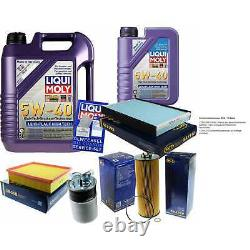 Inspection Sketch Filter Oil Liqui Moly 6l 5w-40 For Audi A6 Before 4b C5