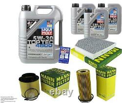 Inspection Sketch Filter Oil Liqui Moly 8l 5w-30 For Audi A5 Cabriolet 8f7
