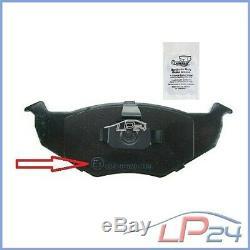 Kit Set 4 Disc Brake + 8 Pads Front Axle + Rear 31887697