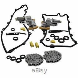 Left + Right For Audi 4.2l V8 Timing Chain Tensioner Gasket Set Kit 077 109 087