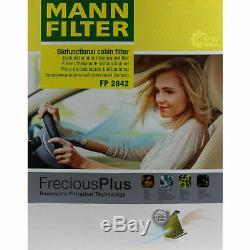 Liqui Moly 10 Liter 5w-30 Engine Oil + Mann-filter Set For Audi Q7 4l 4.2 Tdi