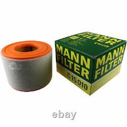 Liqui Moly 10 Litre 5w-30 Engine Oil - Mann-filter Set Audi A6 Front 4g5 C7