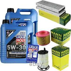 Liqui Moly 10l 5w-30 Engine Oil - Mann-filter For Audi A6 Front 4f5 C6 S6