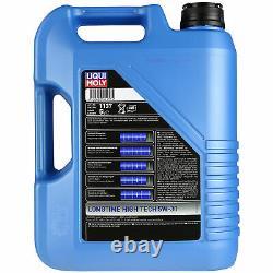 Liqui Moly 10l Lt High Tech 5w-30 Engine Oil + Mann Set For Audi A8 4e