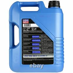 Liqui Moly 10l Lt High Tech 5w-30 Engine Oil + Mann-filter Set For Audi A5