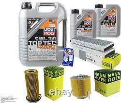 Liqui Moly 7l Toptec 4200 5w-30 Mann-set Filter Engine Oil For Audi A6 4f2 C6