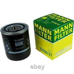 Liqui Moly 7l Toptec 4600 5w-40 Mann-set Filter Engine Oil For Audi A8 4d2