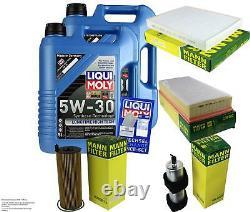 Liqui Moly Oil 10l 5w-30 Filter Review For Audi Q7 4l 3.0