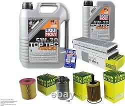Liqui Moly Oil 6l 5w-30 Filter Review For Audi A6 Front 4f5 C6 2.0