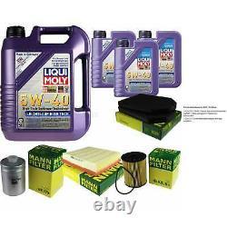 Liqui Moly Oil 8l 5w-40 Filter Review For Audi A8 4d2 4d8 4.2 Quatro