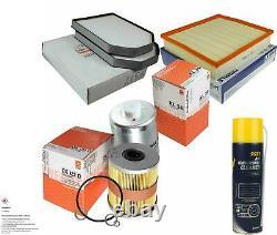 Mahle / Knecht Filter Package Mannol Air Filter Audi A8 4d2 4d8 3.7 S8