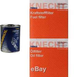 Mahle / Knecht Set On Inspection Filters Set Tbs Engine Wash 11598982