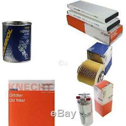 Mahle / Knecht Set On Inspection Filters Set Tbs Engine Wash 11613449