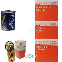 Mahle / Knecht Set On Inspection Tbs Filters Set Engine Wash 11615536