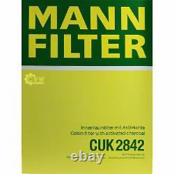 Mann Filter Mannol Air Of Transmission Side Audi Q7 4l 3.0 Tdi