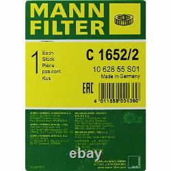 Mann Filter Pack Mannol Air Filter Audi A8 4e 4.2 Tdi