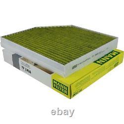 Mann-filter Indoor Air Set Oil Fuel Audi Q5 8r 2.0 Tdi