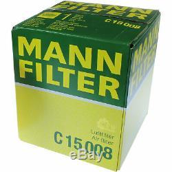 Mann-filter Inspection Set Kit Skoda Fabia Combi Audi A1 545 8x1