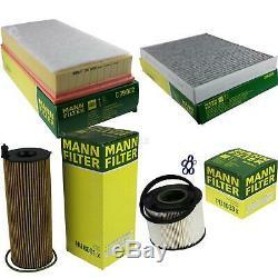 Mann-filter Inspection Set Kit Vw Touareg 7la 7l6 7l7 Audi Q7