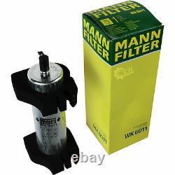 Mann-filter Set Air Interior Oil Fuel Audi Q5 8r 2.0 Tdi