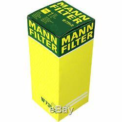 Mann-filter Set Audi A6 Avant 3.7 Quattro S6 4b C5 4.2 10,224,996