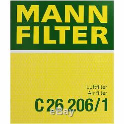 Mann-filter Set Audi A6 Avant 4b C5 2.5 Tdi Quattro 10,224,858