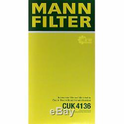Mannol 10 L Extreme 5w-40 Engine Oil + Mann-filter Audi A8 4e S8 Quattro