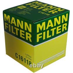 Mannol 5l Energy Premium 5w-30 + Mann-filter Filter Audi A6 4f2 C6 2.0