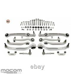 Mapco Hps Bras Lot 52-tlg Strengthened For Audi A6 4f-2 H 5 C6 - All -before