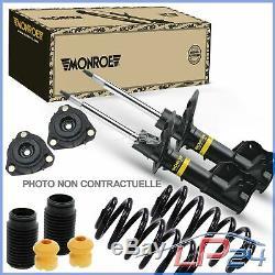Monroe Kit Set Gas Shock Absorber + Springs + Cups Rear Axle 32099094
