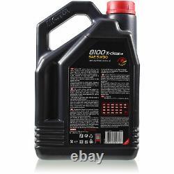 Motul 7 L 5w-30 Engine Oil + Mann-filter Audi A4 Front 8k5 B8 3.0 Tdi