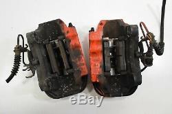 Oem Audi Q7 4l 2006-2011 18zl Caliper Rear Brake 4 Pot Set Kit Bremse Set