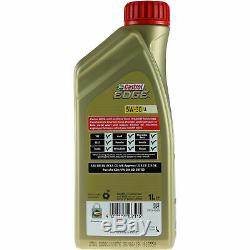 On Inspection Sketch Filter 7l Castrol Oil 5w30 For Audi A6 Avant C7 4g5