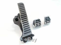 Original Audi A3 8p Set Aluminum Pedals Pedal Protector Kit Alukappen