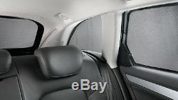 Original Audi Sunscreen 3-er Set F. Rear A3 + Kofferraumseitenscheiben