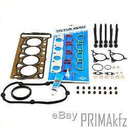 Reinz Gasket Kit Cylinder + Set Screw Audi A3 Seat Skoda Vw Golf V VI
