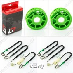 Repair Kit 2x Power Window Set Before Left + Right For Audi A5 Sportback 8t