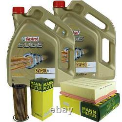 Revision Filter Castrol 10l 5w30 Oil For Front Audi A4 From 8ed B7 2.7